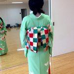 日本舞踊の着物