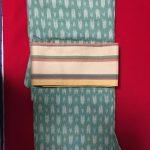 着物ウール、帯正絹1