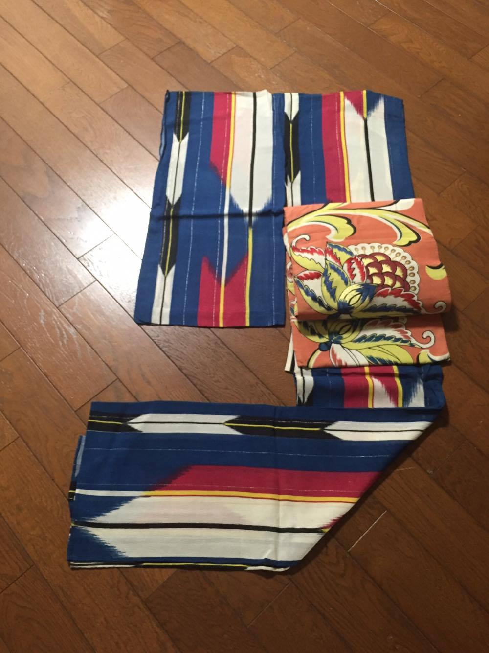 着物・正絹、帯・綿2