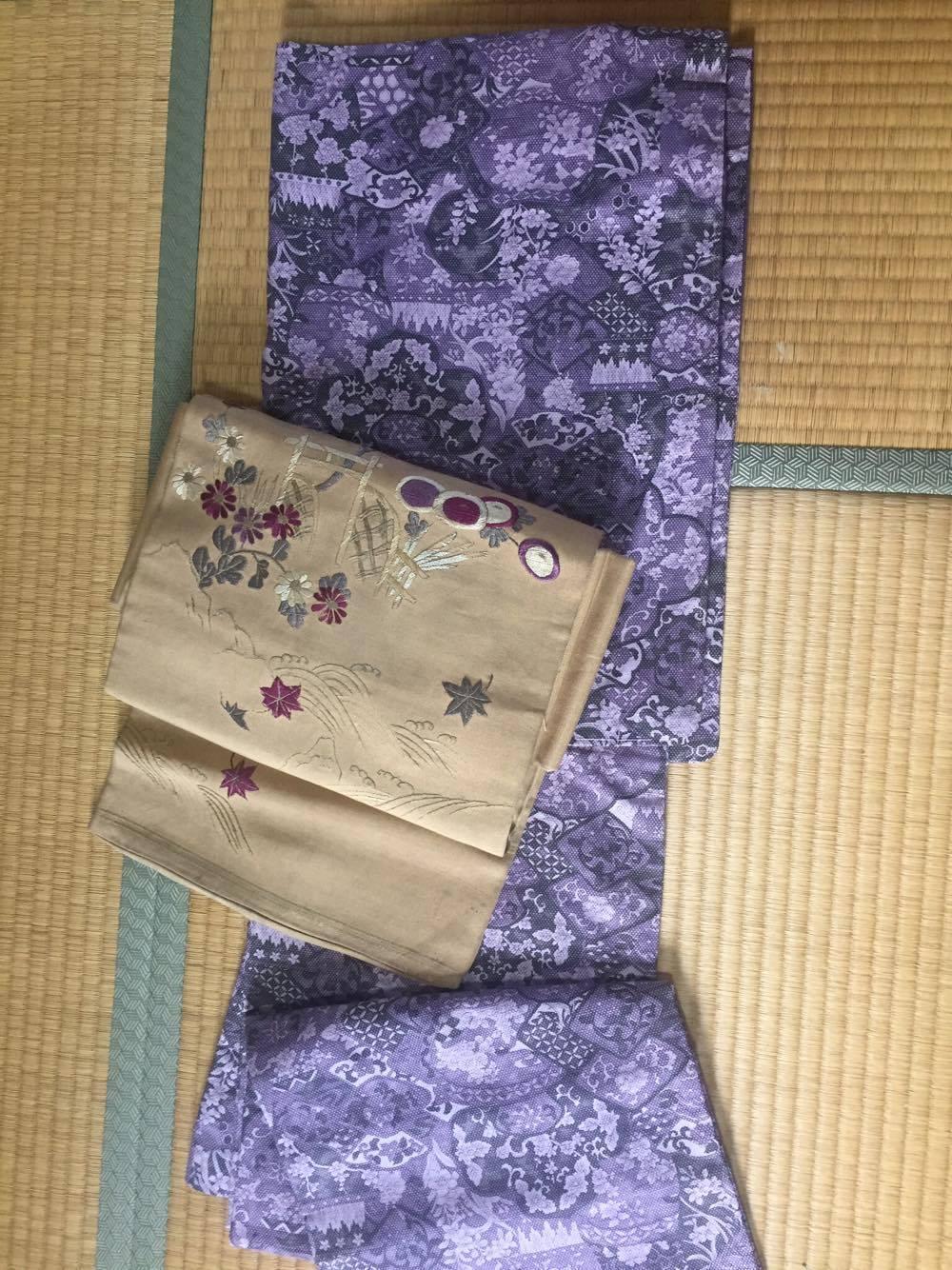 着物&帯・正絹1