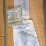 着物:正絹、帯;正絹1
