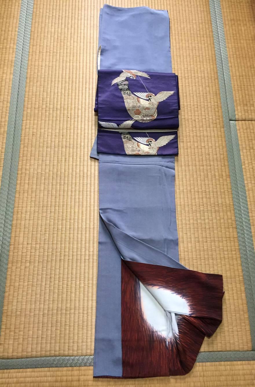 着物:正絹、帯;正絹7