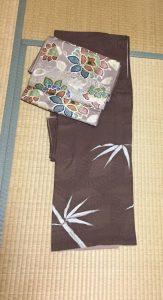 着物:正絹、帯;正絹6
