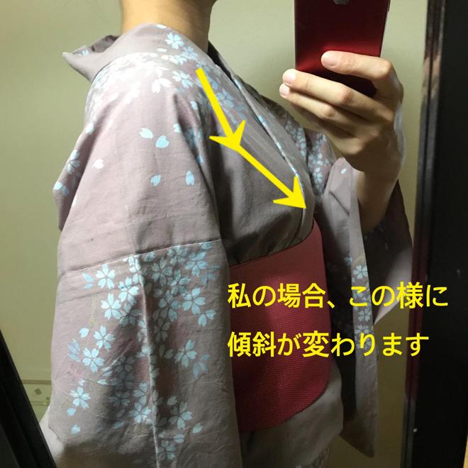 浴衣の着崩れ11-2