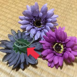 100円ショップの造花