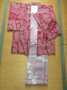 着物:正絹、羽織:正絹1