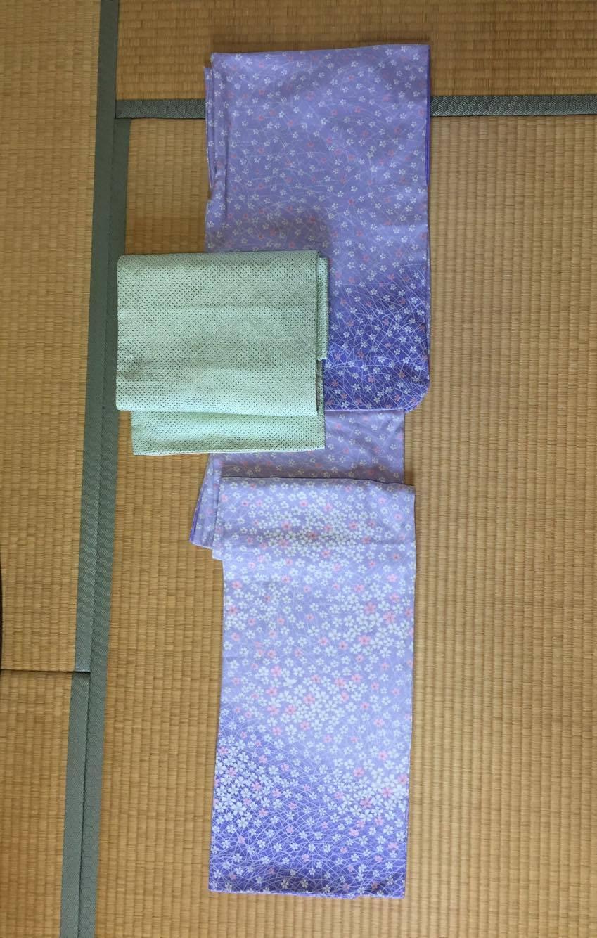 着物:正絹、帯;正絹3