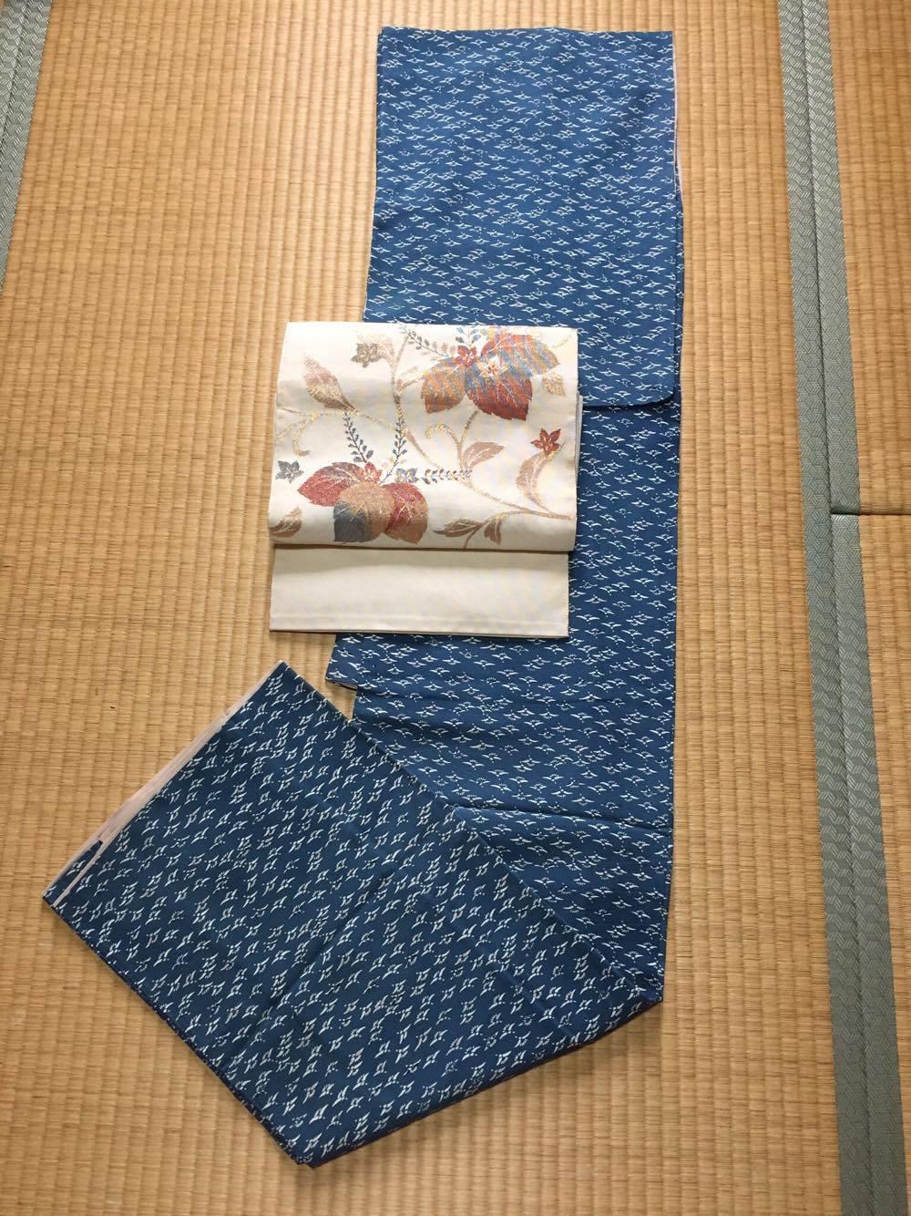 着物:正絹、帯;正絹9