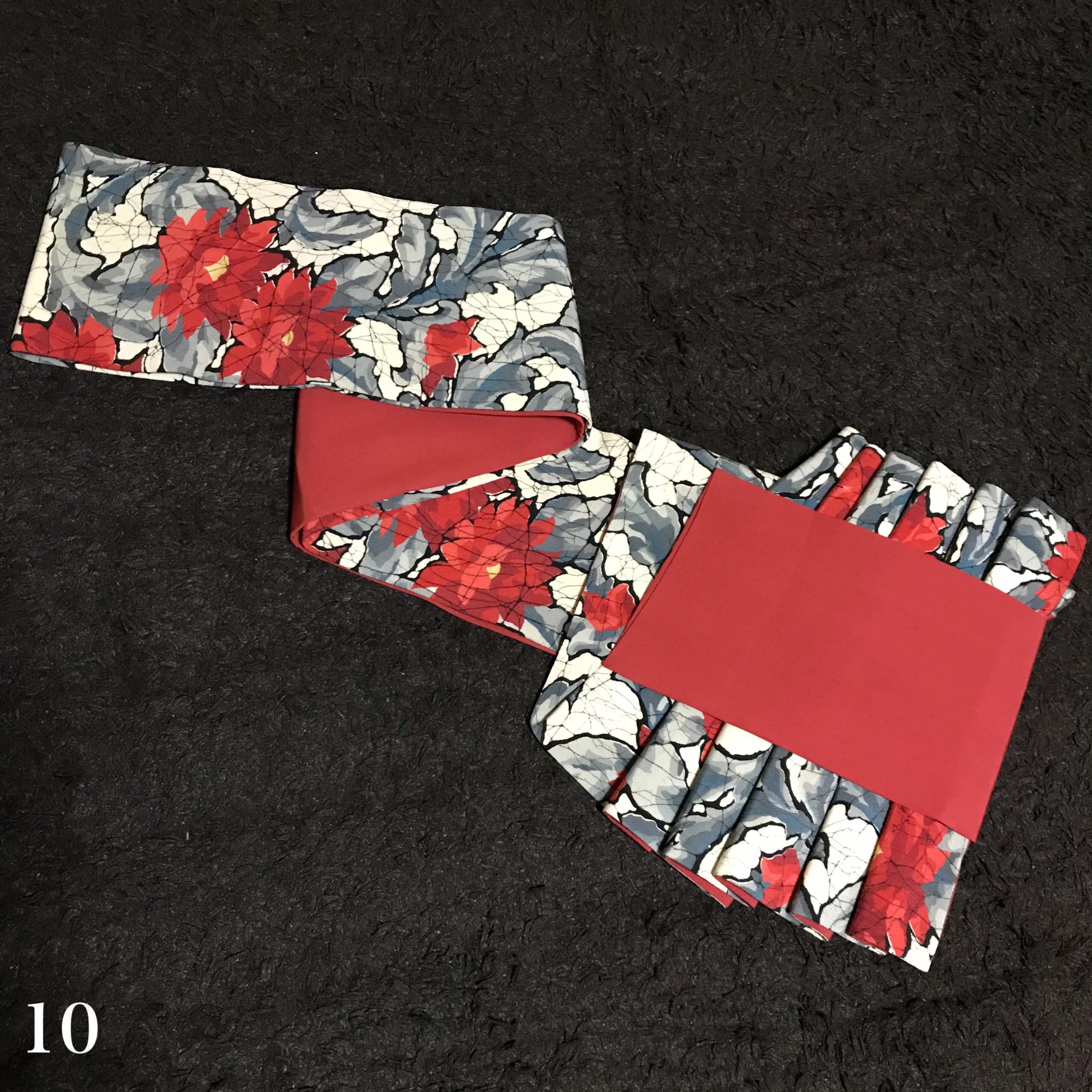 オリジナル帯結び-鎧-10
