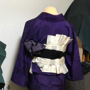 オリジナル帯結び-鎧-4