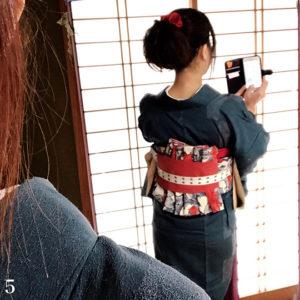 オリジナル帯結び-鎧-5