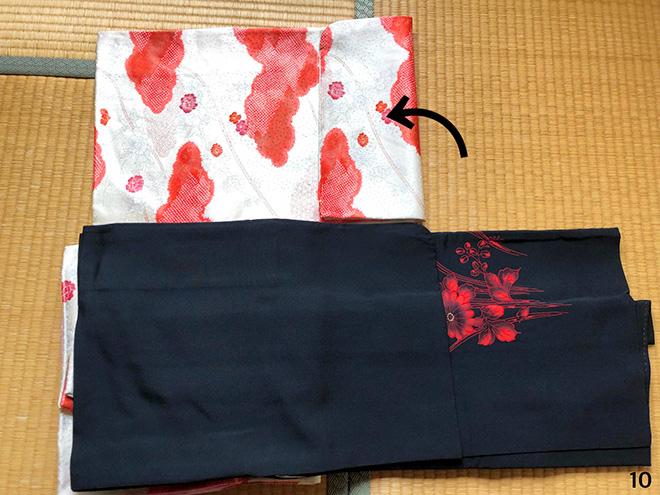 黒羽織のコーディネート10