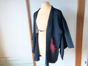 黒羽織のコーディネート5