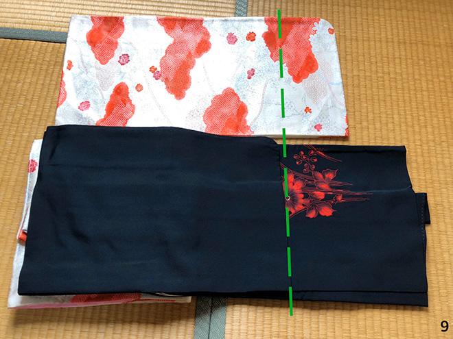 黒羽織のコーディネート9